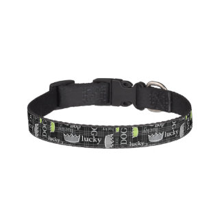 Lucky Dog Plaid Pet Collar