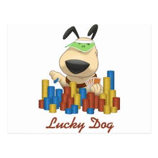 Lucky Dog Postcard