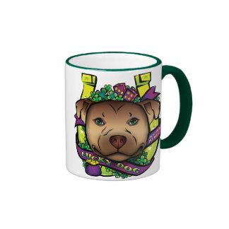 Lucky Dog Ringer Coffee Mug