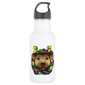 Lucky Dog Stainless Steel Water Bottle