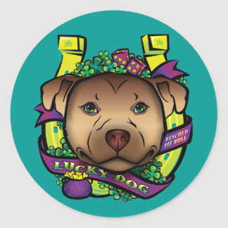 Lucky Dog Stickers