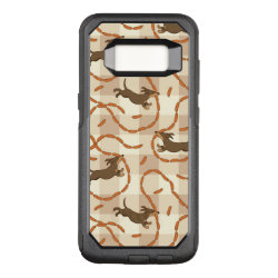 OtterBox Commuter Samsung Galaxy S8 Case with Dachshund Phone Cases design