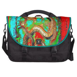 Lucky Dragon Good Luck Design by Sharles Laptop Bag