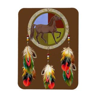 Lucky Dream Horse Rectangular Photo Magnet