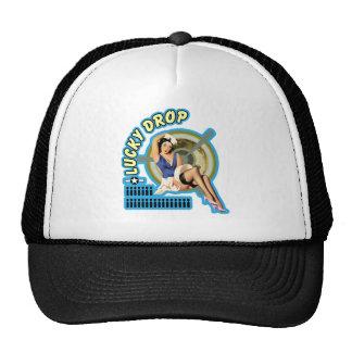 Lucky Drop WWII Nose Art Trucker Hat