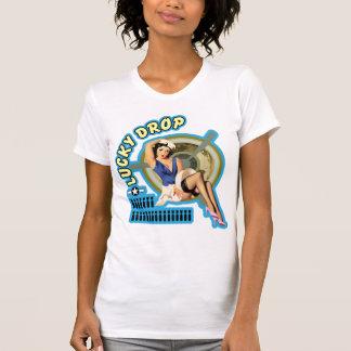 Lucky Drop WWII Nose Art T-Shirt
