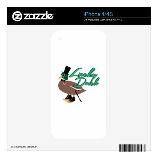 Lucky Duck Decals For The iPhone 4S