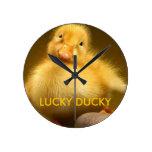 LUCKY DUCKY CLOCK