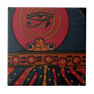 Lucky Egyptian Scarab Ceramic Tiles