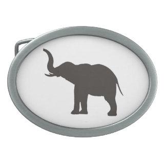 """Lucky Elephant"" Belt Buckle"