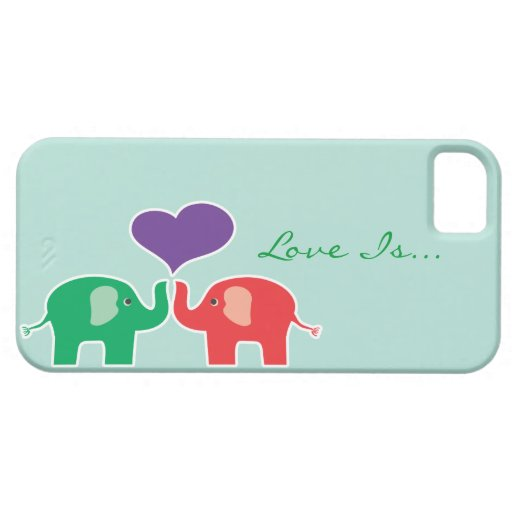 Lucky Elephant iPhone 5 Case