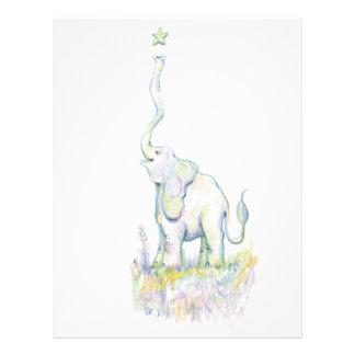 Lucky Elephant Letterhead