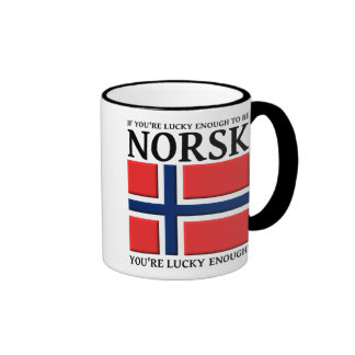 Lucky Enough To Be Norsk Mug