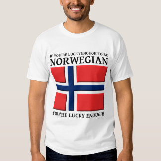 Lucky Enough To Be Norwegian Shirt