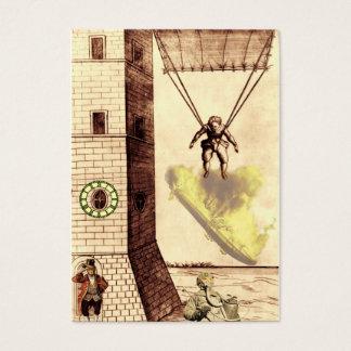 Lucky Escape ~ Artist Trading Card. Business Card