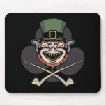 Lucky Evil Leprechaun Mousepad