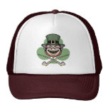 Lucky Evil Leprechaun Trucker Hat