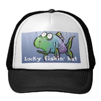 Lucky fishin' hat