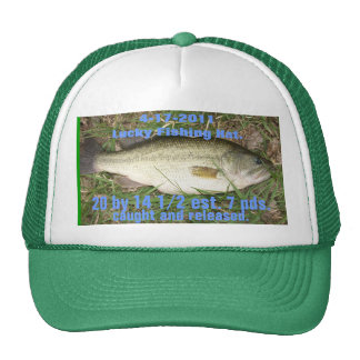Lucky Fishing Hat.
