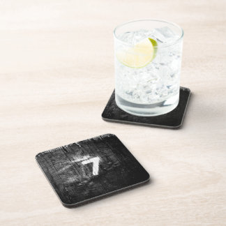 lucky for sum beverage coaster
