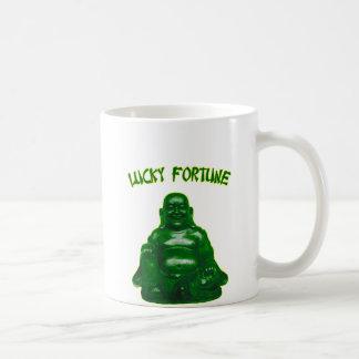 Lucky Fortune Buddha Coffee Mug