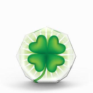 Lucky Four Leaf Clover Award