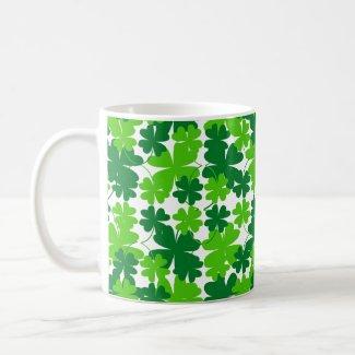 Lucky Four-Leaf Clover Coffee/Tea Mug