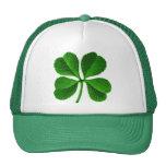 Lucky Four Leaf Clover Hats