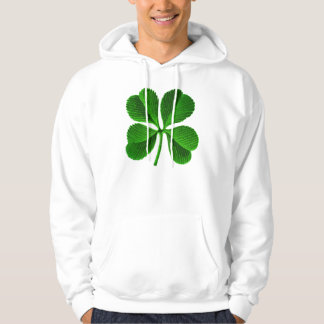 Lucky Four Leaf Clover Hoodie