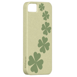 Lucky four-leaf Clover iPhone 5 Case