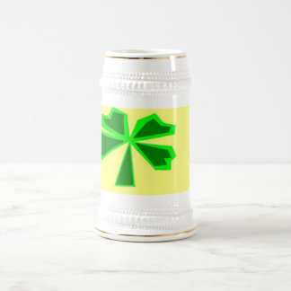 lucky four-leaf clover (LFLC) Beer Stein