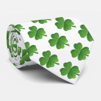 Lucky Four Leaf Clover Neck Tie