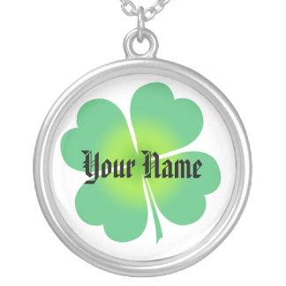 Lucky Four Leaf Clover Necklace