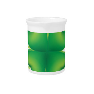 Lucky Four Leaf Clover Pitcher