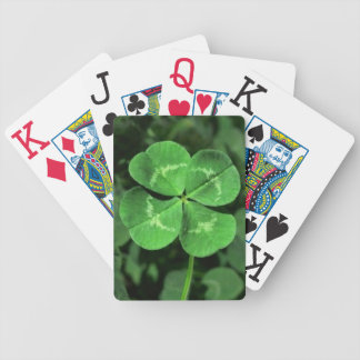 Lucky Four-Leaf-Clover Playing Cards