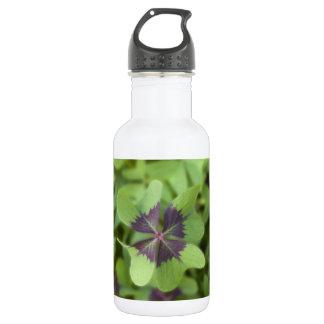 Lucky Four-Leaf Clover Shamrock Liberty Bottle 18oz Water Bottle