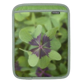 Lucky Four-Leaf Clover Shamrock Rickshaw Sleeve Sleeve For iPads