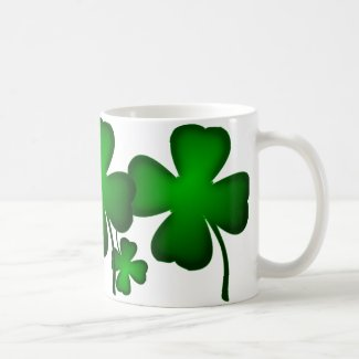Lucky Four Leaf Clover Stein Mugs