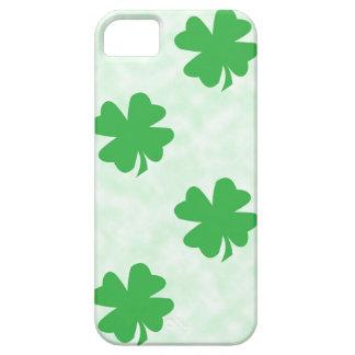 Lucky four leaf clovers iPhone SE/5/5s case
