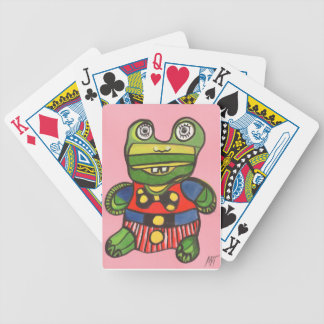 Lucky Frog Bicycle Playing Cards