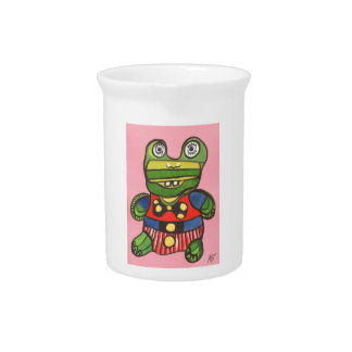 Lucky Frog Pitcher