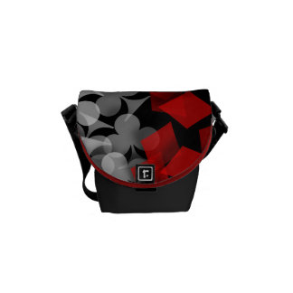 Lucky Gambler Courier Bag
