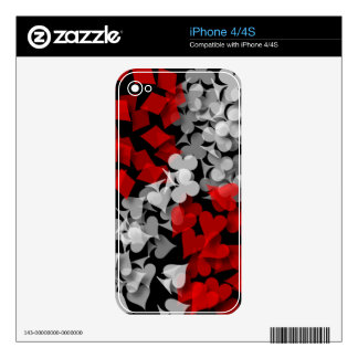 Lucky Gambler Decals For The iPhone 4S