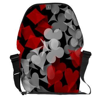 Lucky Gambler Messenger Bags