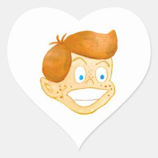 Lucky Gene Heart Sticker