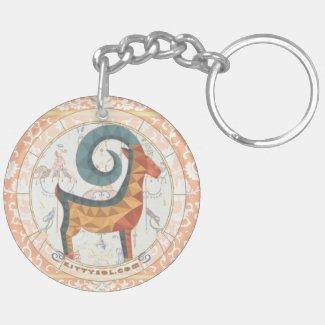 Lucky Goat | Zodiac keychain