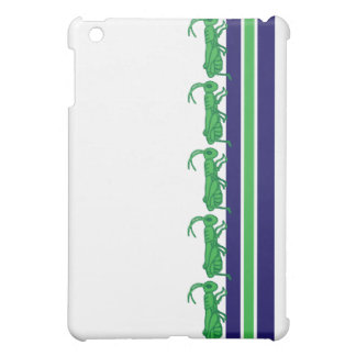 Lucky Grasshopper Striped iPad Mini Covers