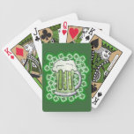 Lucky Green Beer Deck Of Cards