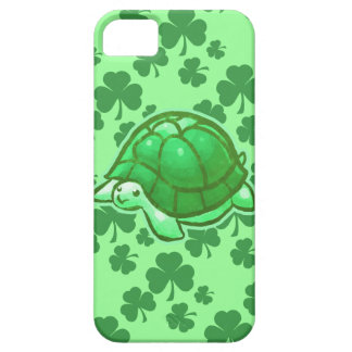 Lucky Green Clover Turtles iPhone 5 Case
