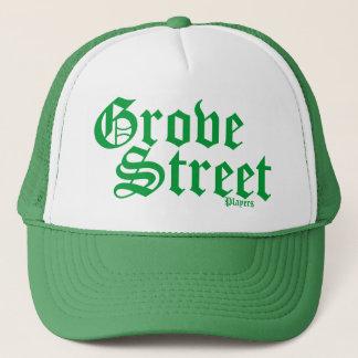 Lucky Green Grove Street Trucker Hat